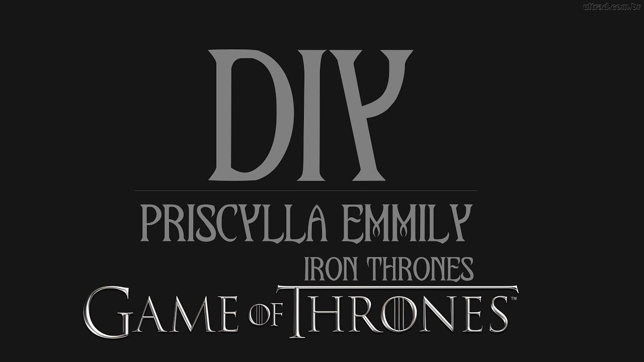 Teaser Diy Trono De Ferro Iron Thrones Youtube