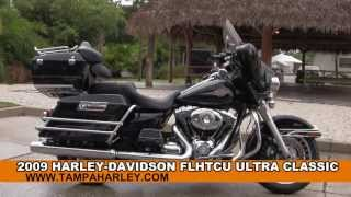 used 2009 harley davidson ultra classic electra glide motorcycle for sale