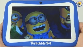 Дитячий планшет Turbokids S4 / Граємо в ігри, Огляд, Розпакування