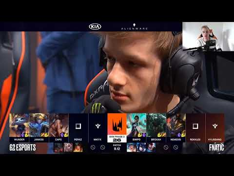VOD Review - Fnatic vs. G2 Esports - 2019 LEC Summer - Week 3, Day 1