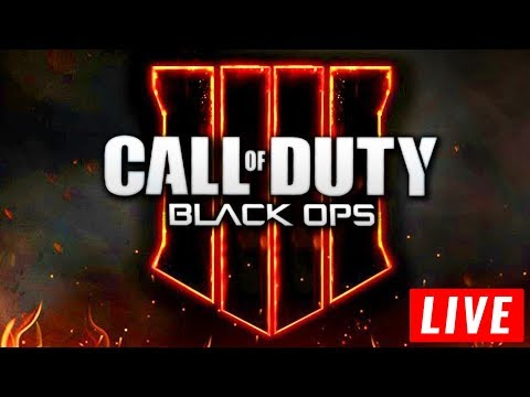 CALL OF DUTY: BLACK OPS 4 LIVE GAMEPLAY COMMUNITY REVEAL EVENT! BO4 Zombies, Battle Royale, and MP!