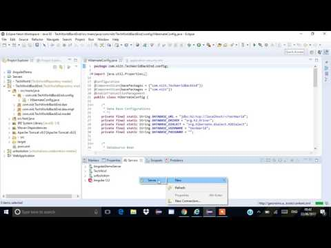 E-Commerce Project-Spring & Hibernate-Demo-Part1