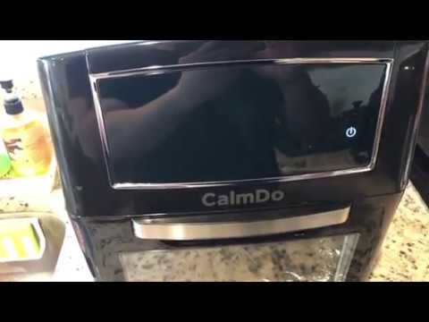 Calmdo Air Fryer Toaster Oven 12 7 Quarts Rotisserie Dehydrator