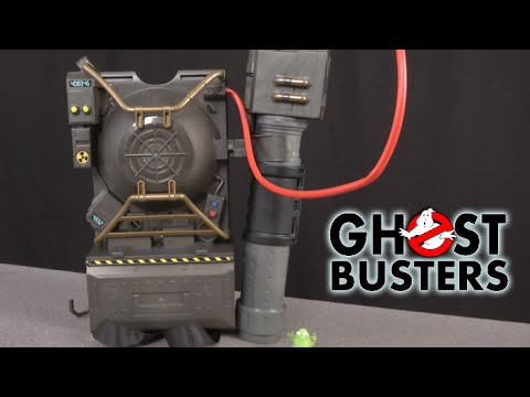 Ghostbusters Proton Pack Projector From Mattel Youtube