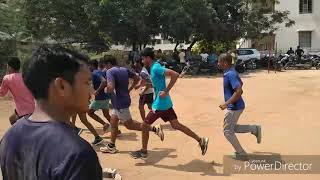 800 and 100 metres practice test by RSI Sampath Sir and explanation about Free coaching for poor