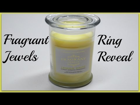 Fragrant Jewels Ring Reveal - Lemon Drop Candle!