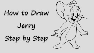 Learn To Draw Jerry mouse.