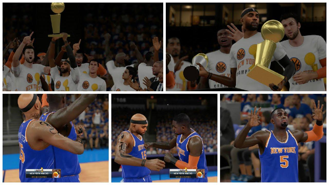 NBA 2K15 MY CAREER PLAYOFFS NFG4 PS4 - 2016 NBA Champions + NBA Finals MVP! - YouTube