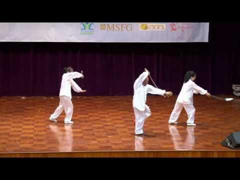 Cheng Wing Kwong Wu Style Tai Chi Sabre Performance