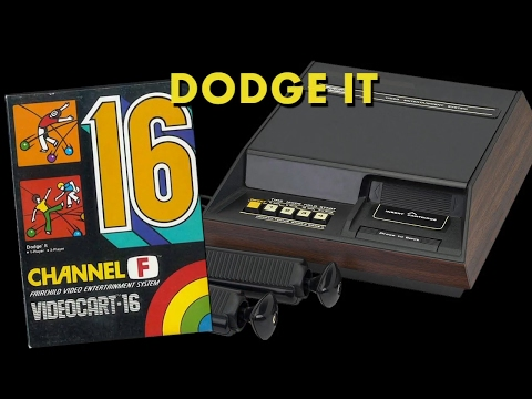 VC 16 - Dodge It - (1978) - Channel F - gameplay HD