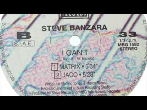 Steve Banzara - I Can't (Matrix Mix)