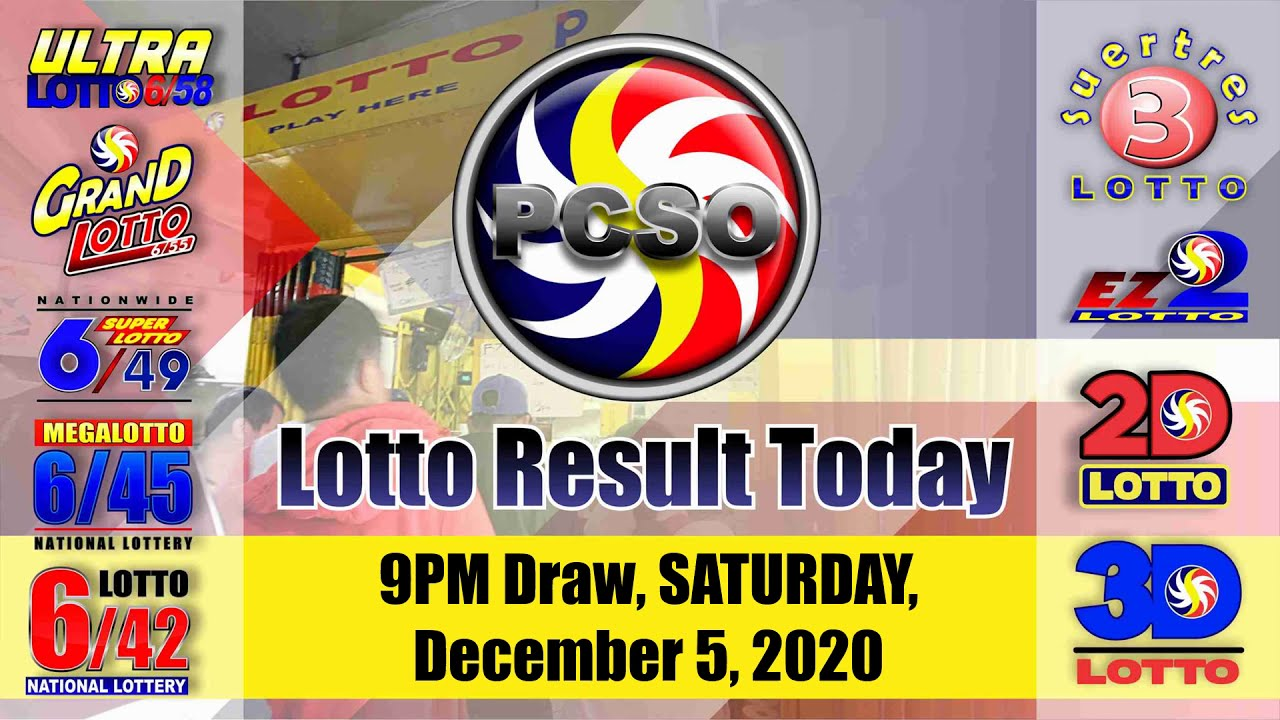 6 55 Lotto Results Today Saturday December 5 2020 Jackpot Prize Is Now Worth Php 33 515 865 60 Youtube