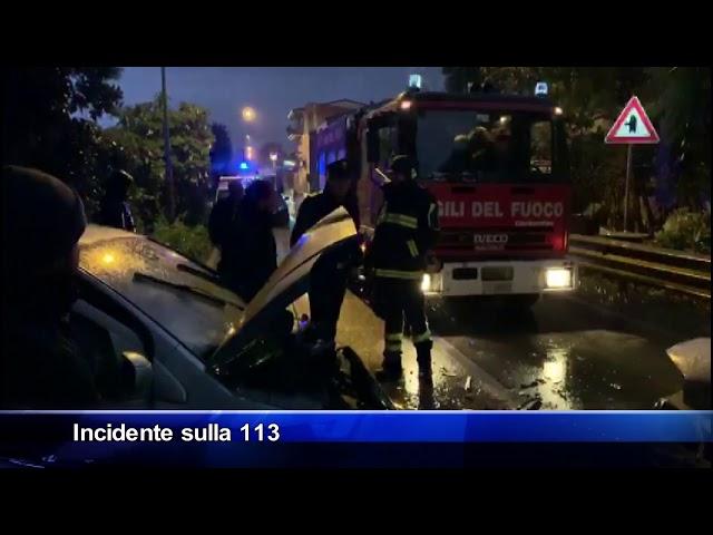 Torrenova, grave incidente stradale