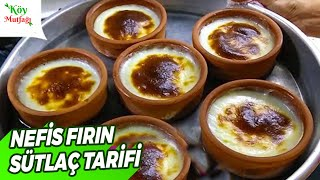 Fırın Sütlaç Tarifi (Tam Ölçü) | Köy Mutfağı
