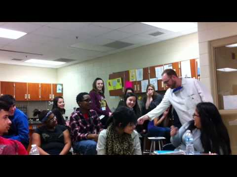 Liquid Nitrogen Demonstration Part 2 | South Elgin High School Chemistry Class