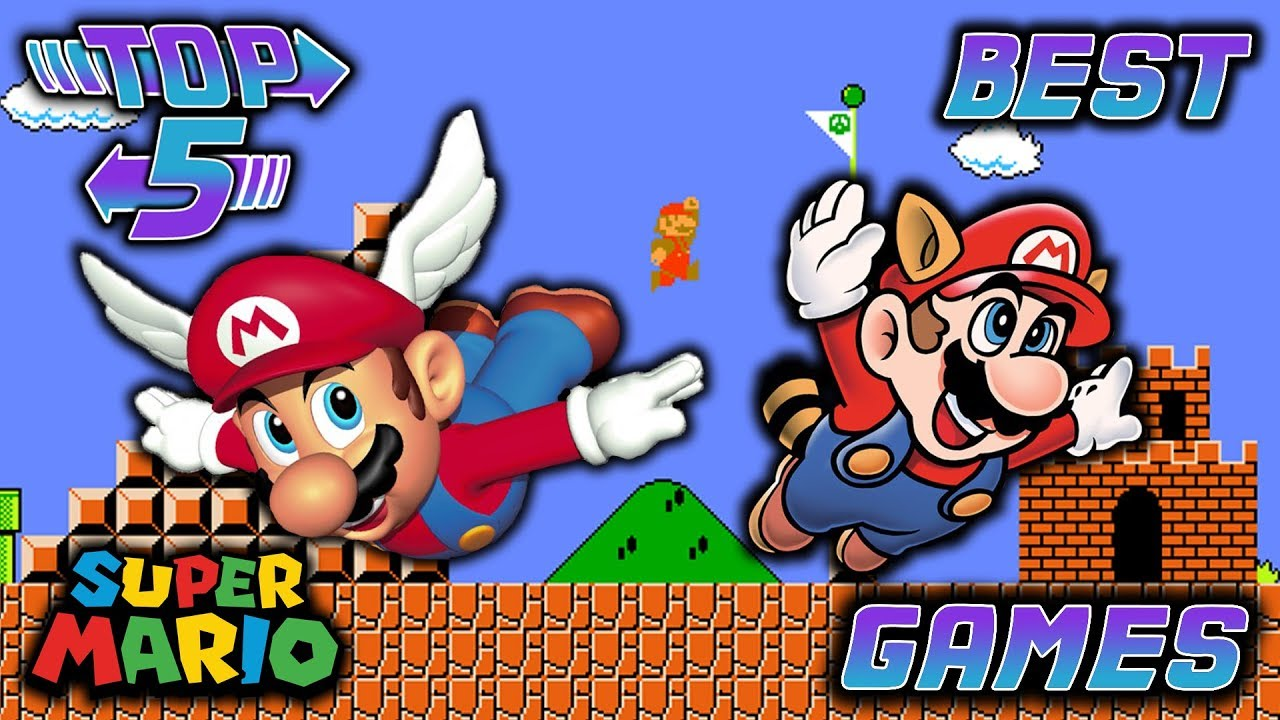 Top 5 Best Super Mario Bros  Games
