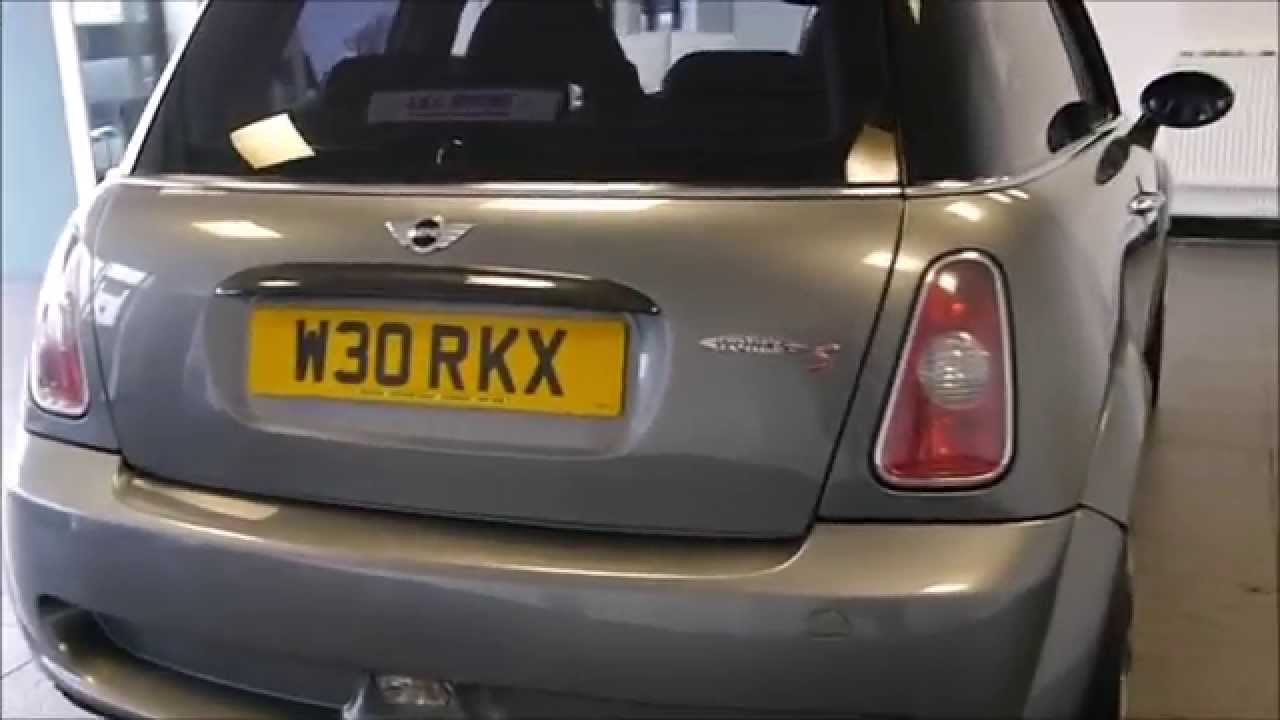 2004 Mini Cooper S 16 John Cooper Works 3dr  HUGE Spec  YouTube