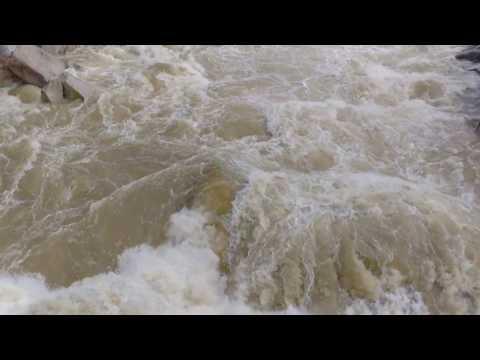 Yuba River after a huge storm! - Hoyts Crossing - Nevada County, CA