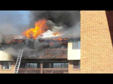 Apartment fire at ottawa