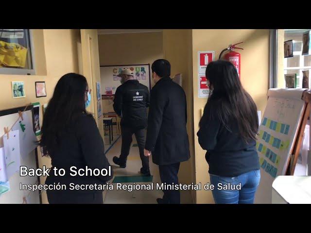 Visita Back to School - Departamento de Acción Sanitaria de la Seremi de Salud