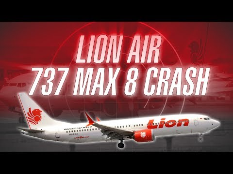 Brand New Lion Air Boeing 737 MAX 8 Crashes Departing Jakarta