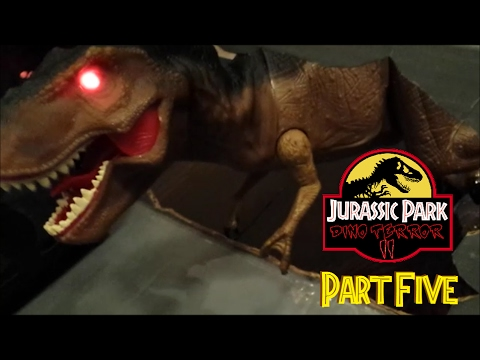 Jurassic park dino terror ii toy movie part 5 7 youtube - Film de dinosaure jurassic park ...