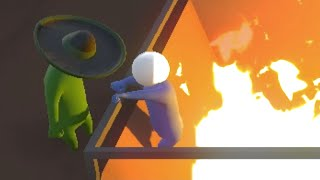FIERY PITS OF DOOOOM! (Gang Beasts Funny Moments)
