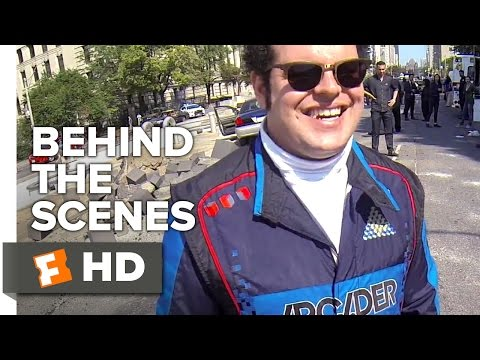 Pixels Behind the Scenes - Go Pro (2015) - Josh Gad, Adam Sandler Action Comedy HD