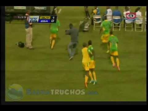 Guyana Vs El Salvador Goles 2 - 3