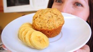 Vegan Banana Muffin For 1!