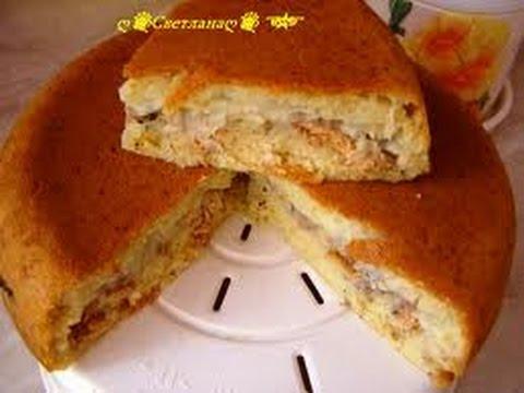 Пирог на кефире в мультиварке рецепт пошагово
