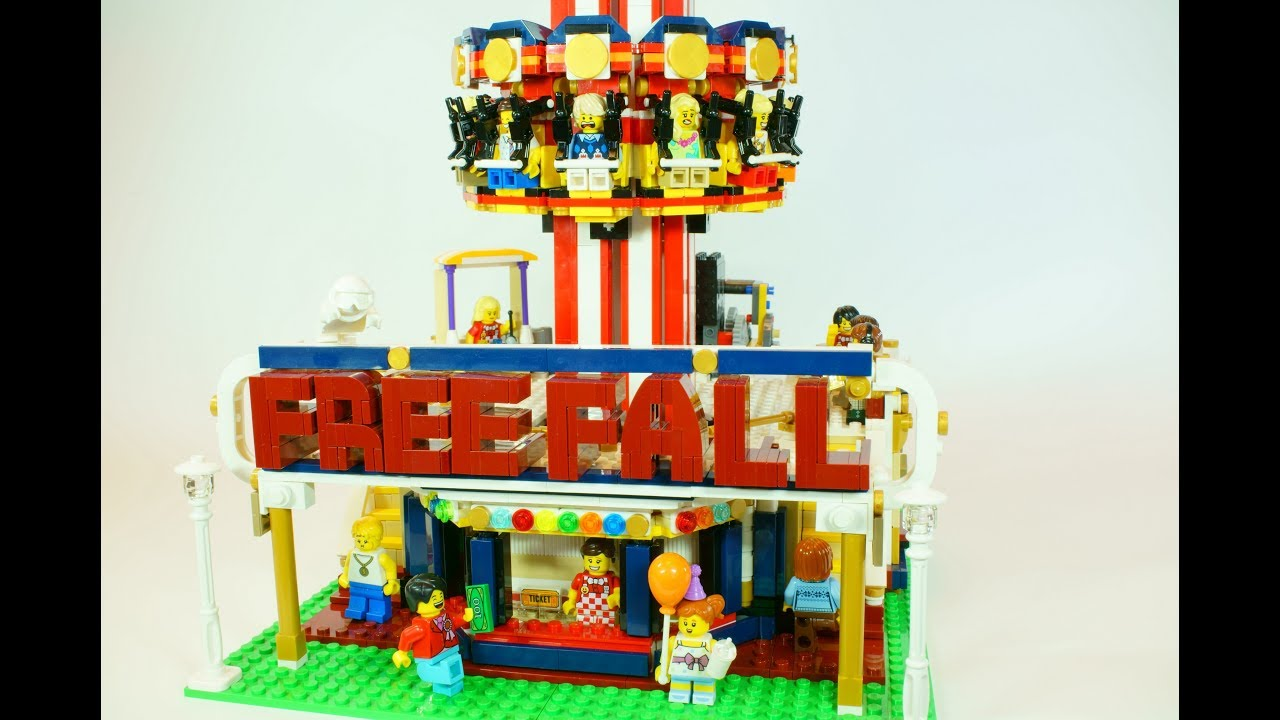 LEGO Free Fall Tower (LEGO Drop Tower)