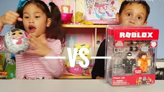 LOL Surprise VS Roblox | Unboxing Toys | Toy review