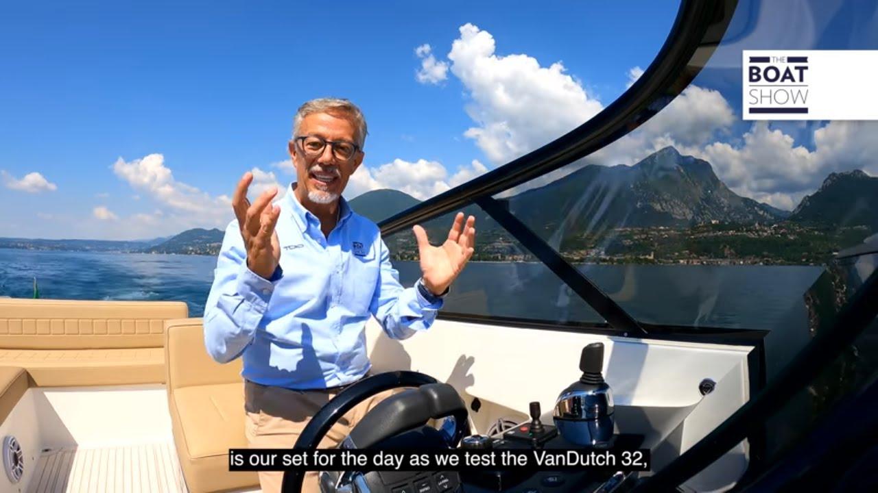VANDUTCH 32 - Motor Yacht Review - The Boat Show