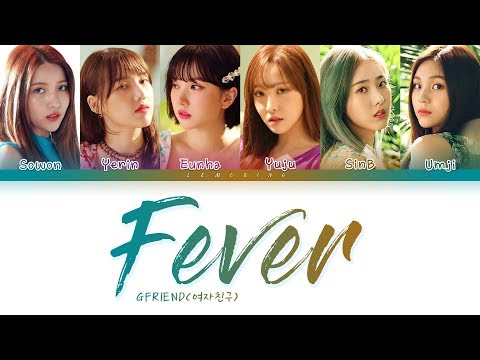 GFRIEND - Fever (여자친구 - 열대야) [Color Coded Lyrics/Han/Rom/Eng/가사]