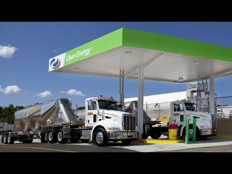 Clean Energy Climbs on Opening of Two New Natural Gas Stations