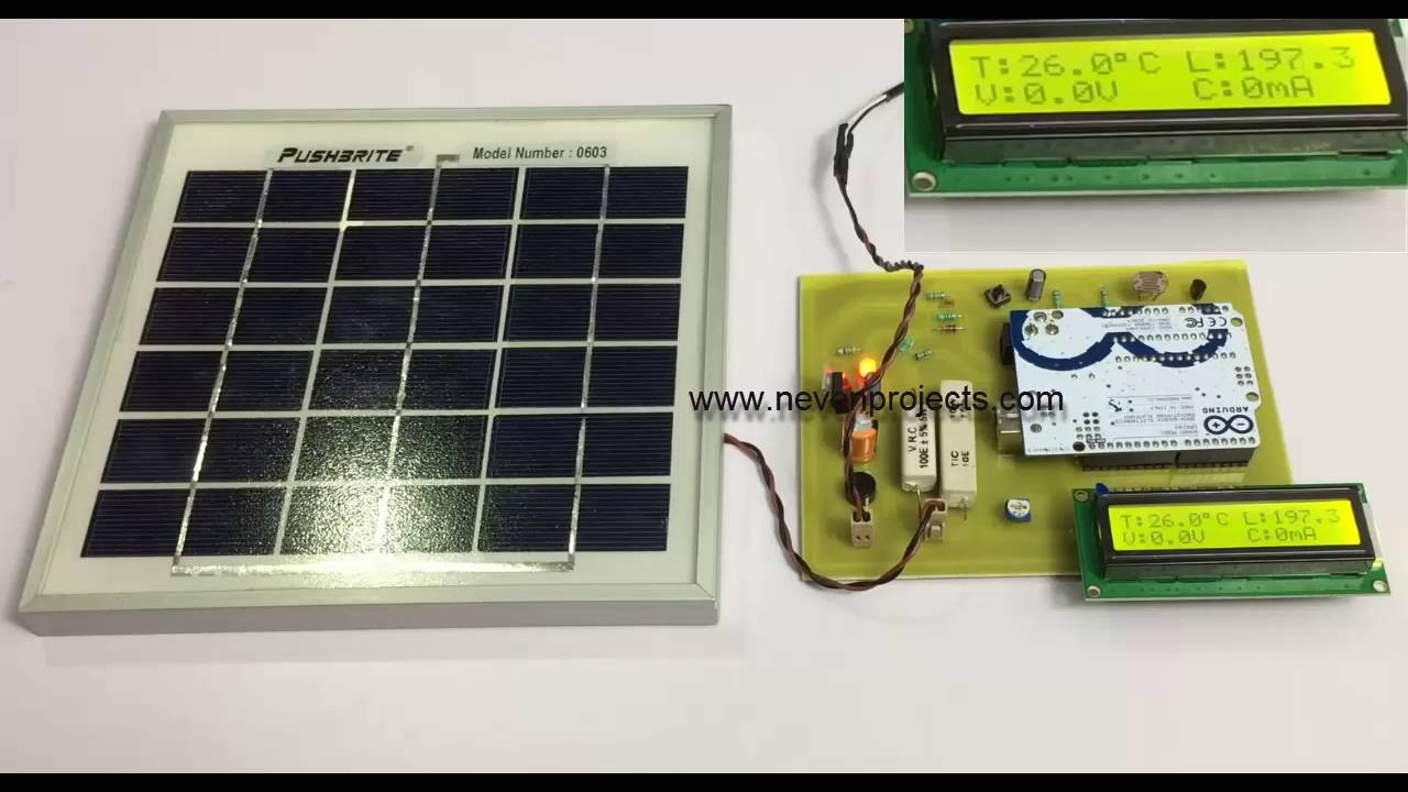 Ardunio Based System To Measure Solar Power