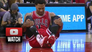 Derrick Rose Full Highlights at Raptors (2014.11.13) - 20 Points, Injury Again!