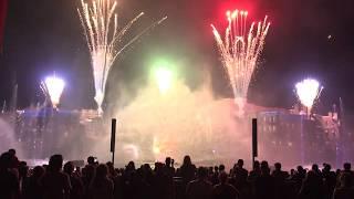 Universal Cinematic Celebration Nighttime Show Full show in 4K