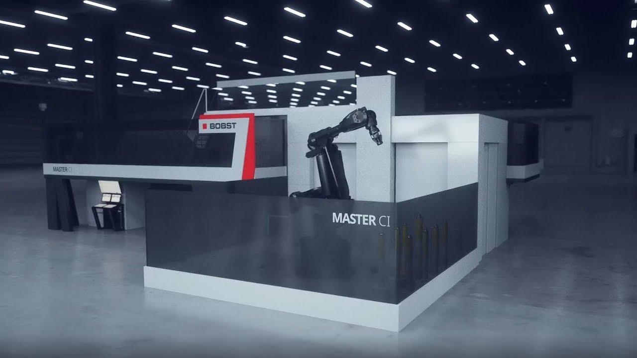 MASTER CI. La obra maestra del rendimiento en impresión flexográfica. By BOBST.