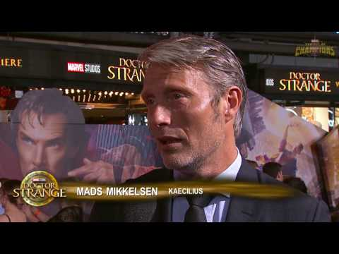 Marvel's Doctor Strange's Mads Mikkelsen Discusses Kaecilius