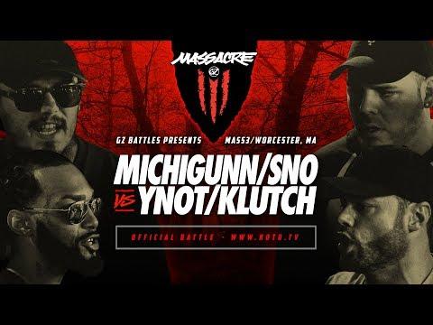 KOTD - MichiGunn/Sno vs YNot/Klutch | #MASS3