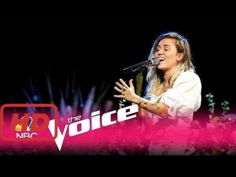 "The voice 2017 america  Miley Cyrus: ""Malibu"" - The Voice 2017"