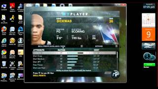 How To Hack NBA 2K11 Skill Points PC