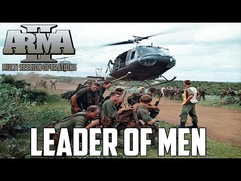 ARMA 2 MSO Vietnam - Leader of Men