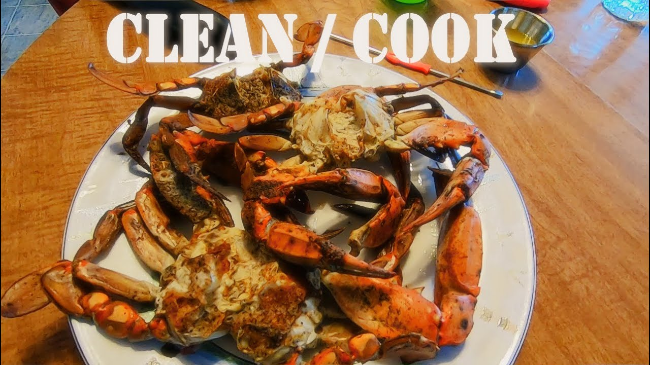 how to cook blue crabs video