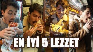 İSTANBUL'UN EN İYİ 5 SOKAK LEZZETİNİ TEST ETTİK!!! #sosyobest