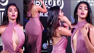 Pooja Hegde HOT In Lilac Dress At GQ Best Dressed Awards 2019