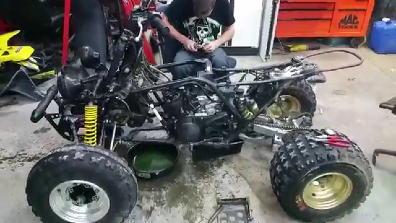 Yamaha Banshee , Blown Engine??