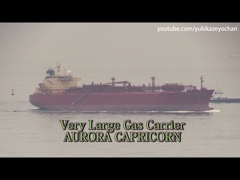 Very Large Gas Carrier / LPG Tanker: AURORA CAPRICORN (IMO: 9387762)